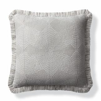 Kapa Quilt Dove Outdoor Pillow