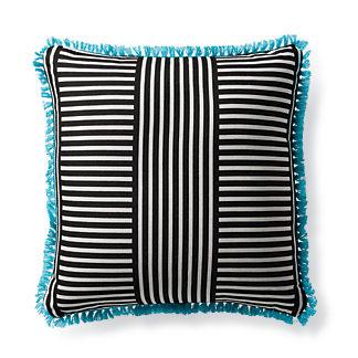 Mod Basket Onyx Outdoor Pillow