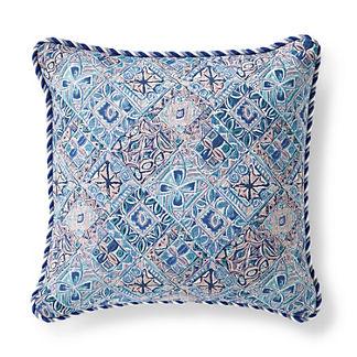 Mosaic Vibe Petal Outdoor Pillow