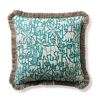 Parquet Safari Fern Outdoor Pillow