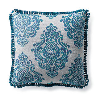 Regal Manor Peacock Outdoor Pillow