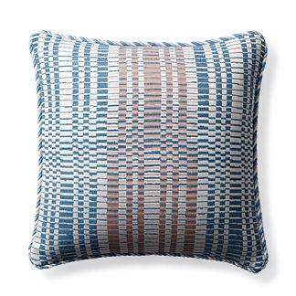 Volta Air Blue Outdoor Pillow