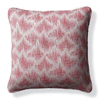 Acoustic Effect Fuchsia Outdoor Pillow