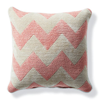 Harper Chevron Petal Outdoor Pillow