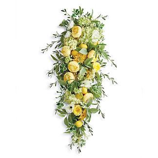 Lemon Blossoms Swag