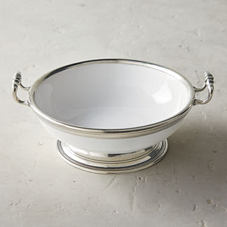 Arte Italica Tuscan Large Footed Bowl