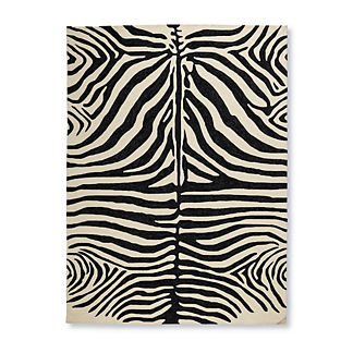 Zebra Stripes Outdoor Rug