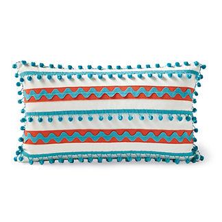 Fiesta Stripe Outdoor Lumbar Pillow