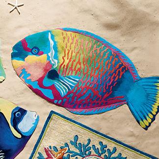 Parrotfish Rug