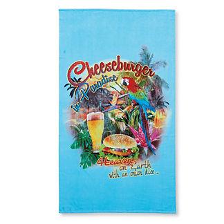 Margaritaville Cheeseburger in Paradise Parrot Pool Towel
