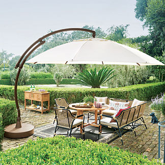 European Round Side Mount Umbrella