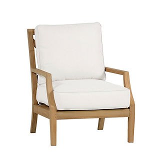 Haley Lounge Chair With Cushion By Summer Classics Luxury Chairs 7