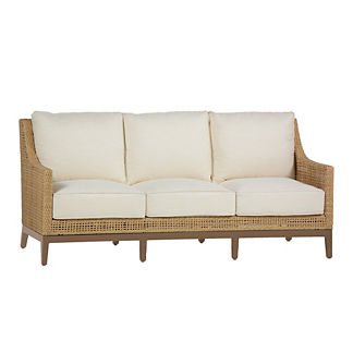 Peninsula Sofa with Cushions by Summer Classics