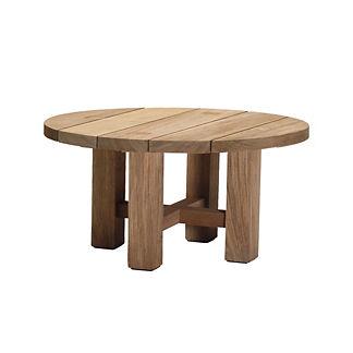 Modern Teak Outdoor Furniture Frontgate - Teak outdoor end table