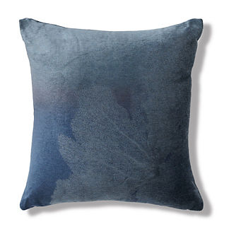 Velvet Etched Sea Fan Aquatic Pillow