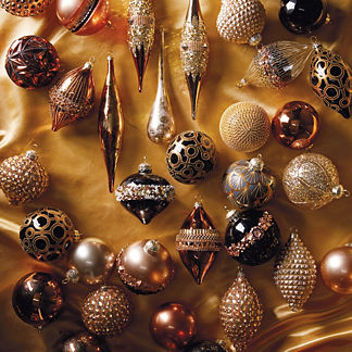 Gilded Soiree 60-piece Ornament Collection