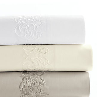 Resort Flourish Egyptian Cotton Sateen Sheet Set
