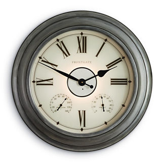 Collins Illuminated Outdoor Clock