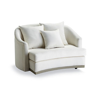 Kelsi Swivel Cuddle Chair by Martyn Lawrence Bullard