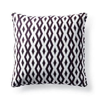 Rio Eggplant Outdoor Pillow by Martyn Lawrence Bullard