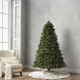 Deluxe Noble Fir Estate Quick Light LED 7-1/2' Full Profile Tree