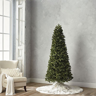Deluxe Noble Fir Estate Quick Light LED 7-1/2' Slim Profile Tree