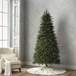 Deluxe Fraser Estate Quick Light LED 9' Slim Profile Tree