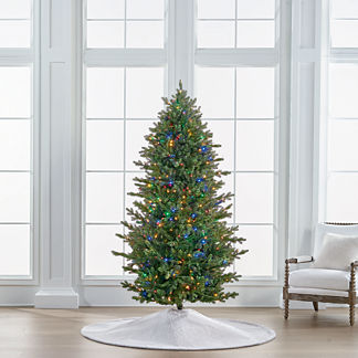 Color Changing Fresh Cut LED 7-1/2 ft. Slim Profile Tree