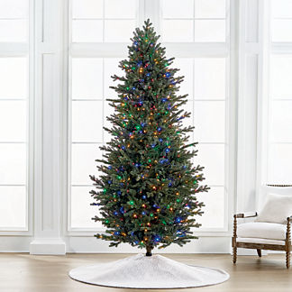 Color Changing Fresh Cut LED 9' Slim Profile Tree