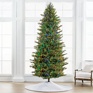 Color Changing Fresh Cut LED 10 ft. Slim Profile Tree