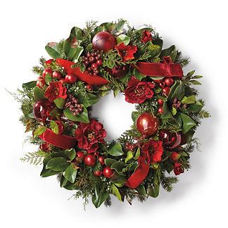 Red Poppy Wreath