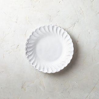 Arte Italica Bella Bianca Pique Salad Plates, Set of Four