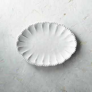 Arte Italica Bella Bianca Serving Platter