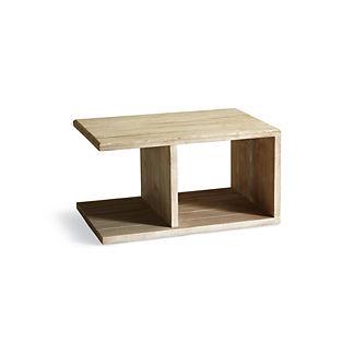 Sloane Side Table in Weathered Finish by Martyn Lawrence Bullard