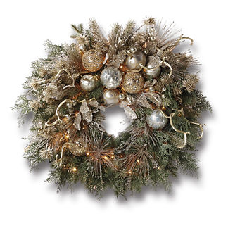 Seraphina Pre-lit Wreath