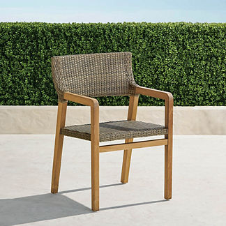 Santino Dining Arm Chairs, Set of Two