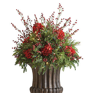 Red Berry Urn Filler