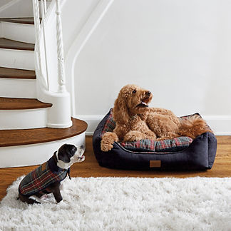 Stewart Plaid Dog Bed
