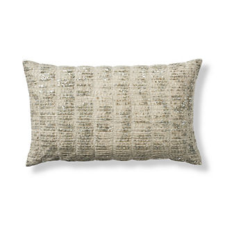 Emeria Decorative Sequin Lumbar Pillow