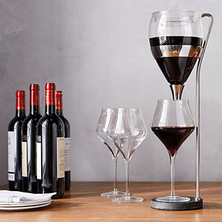Vagnby's Table Tower Aerating Wine Dispenser