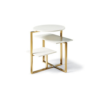 Mateo Three Tier Side Table