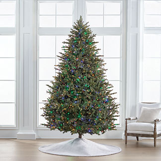 Color Changing Fresh Cut LED 9 ft. Full Profile Tree