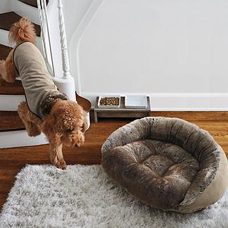 Chinchilla Faux Fur Pet Coat