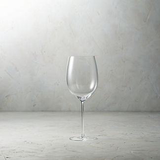 Bottega del Vino Crystal Chardonnay and Cabernet Glasses, Set of Two