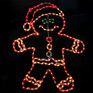 LED Gingerbread Boy