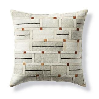 Rory Geometric Tile Hide Decorative Pillow by Martyn Lawrence Bullard