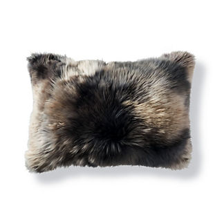 Variegated Alpaca Lumbar Decorative Pillow by Martyn Lawrence Bullard