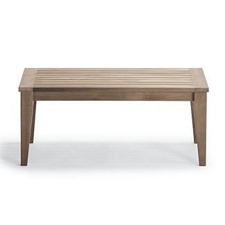 Teak Coffee Table in Weathered Finish