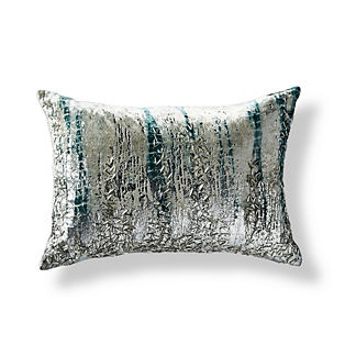 Zoe Geometric Beaded Lumbar Decorative Pillow