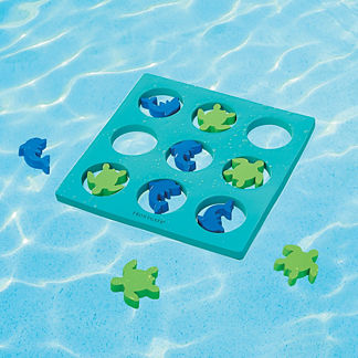Sealife Floating Tic-Tac-Toe Pool Game